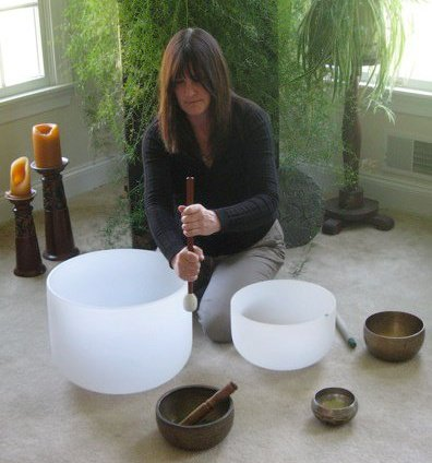 The Singing Bowl Lady