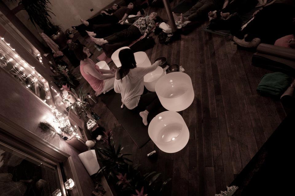 Bowls & Restorative Yoga